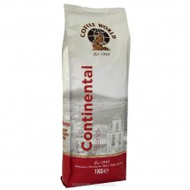 Kawa ziarnista Coffee World Continental Blend 1kg