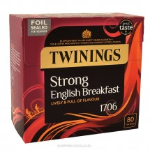 Herbata Twinings Strong English Breakfast 80 saszetek