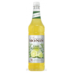 Syrop Monin Lime Rantcho koncentrat limonkowy 1l