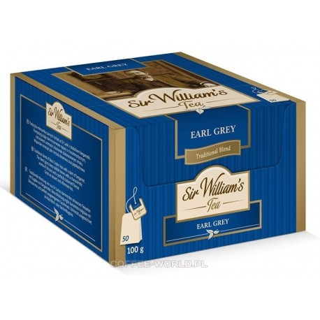 Herbata czarna Sir Williams Tea Earl Grey 50 szt