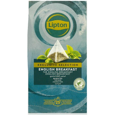 Herbata Lipton Exclusive Selection Classic English Breakfast 25 szt