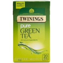 Herbata zielona Twinings pure green tea 20 saszetek