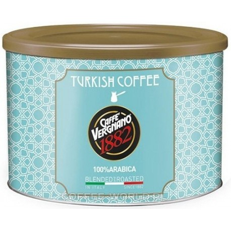 Kawa mielona VERGNANO Turkish Coffee 125g