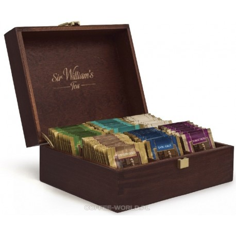 Skrzynka z herbatą Sir Williams Tea 90 szt