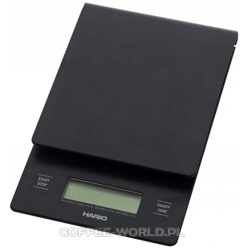 Waga do kawy Hario Drip Scale V60 dripper chemex