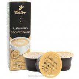 Kapsułki Tchibo Cafissimo Caffe Crema Decaffeinated 10szt