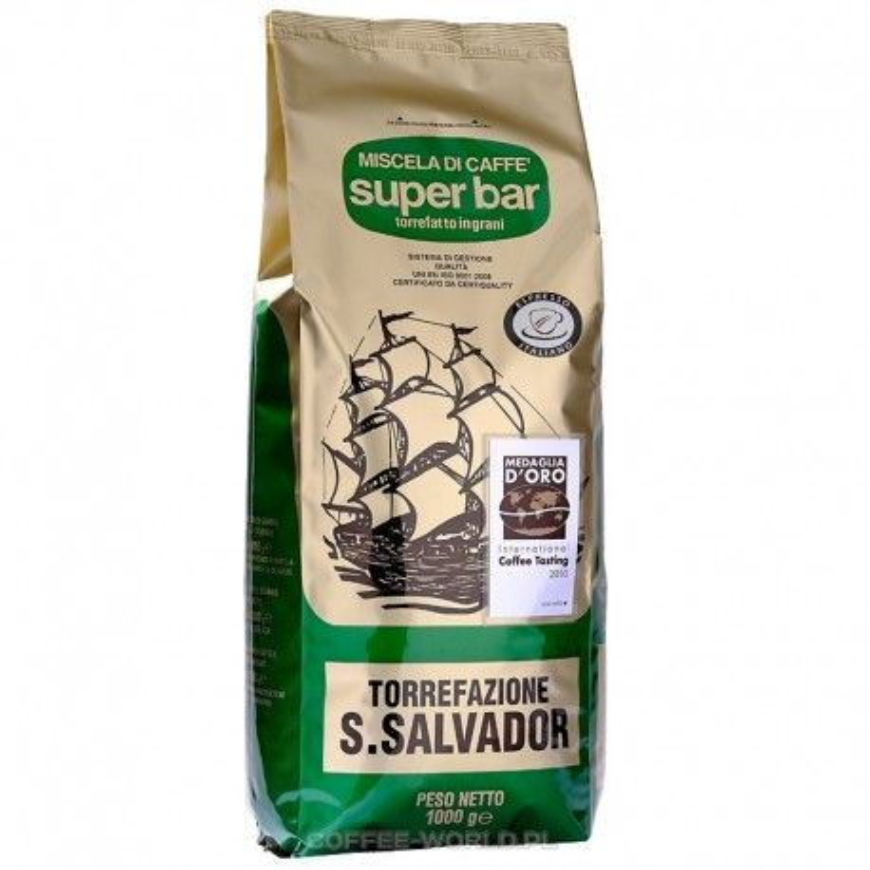 Kawa ziarnista San Salvador Super Bar 1kg