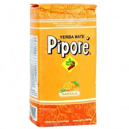 Yerba Mate Pipore Naranja 500g