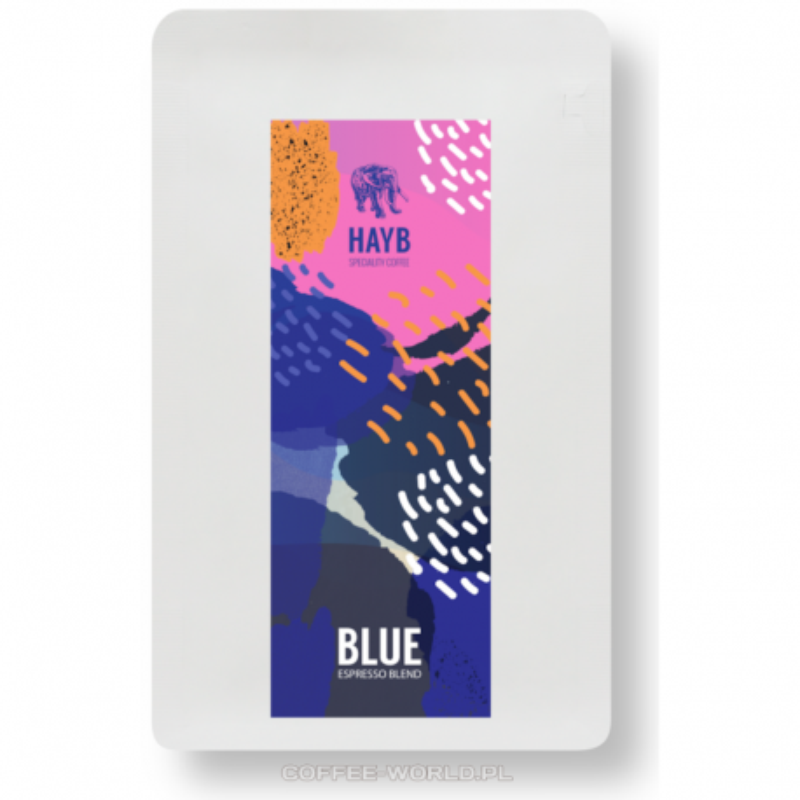 Hayb Kawa ziarnista BLUE ESPRESSO BLEND 250g