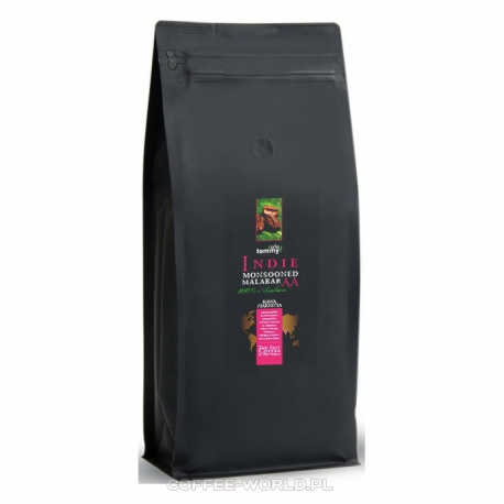 Kawa ziarnista Indie Monsooned Malabar Tommy Cafe 1kg