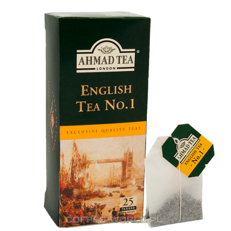Herbata Ahmad English Tea No.1 - 25 saszetek