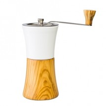 Hario - Ceramic Coffee Mill Olive Wood - młynek do kawy