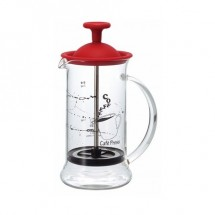 Hario Cafe Press Slim Czerwony 240 ml